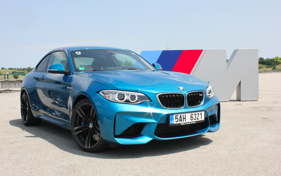 Gasen i botten med BMW M2 Coupé på Hungaroring!