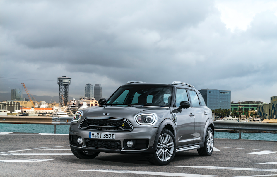 MINI Cooper S E Countryman ALL4 är ingen subtil britt