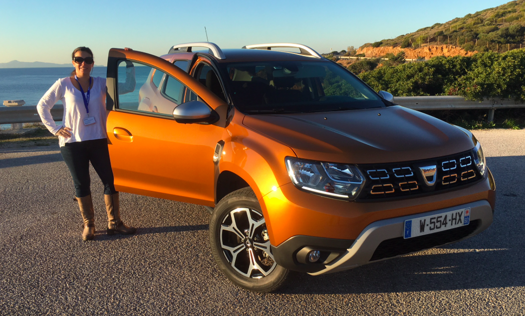 Dacia Duster Athens Greece