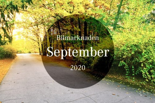 Bilmarknaden september 2020