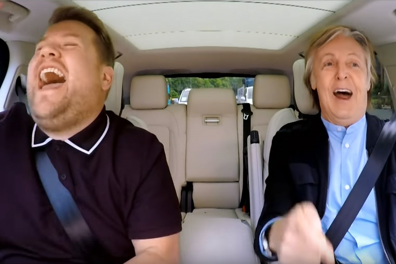 Carpool Karaoke time, Paul McCartney, enjoy!