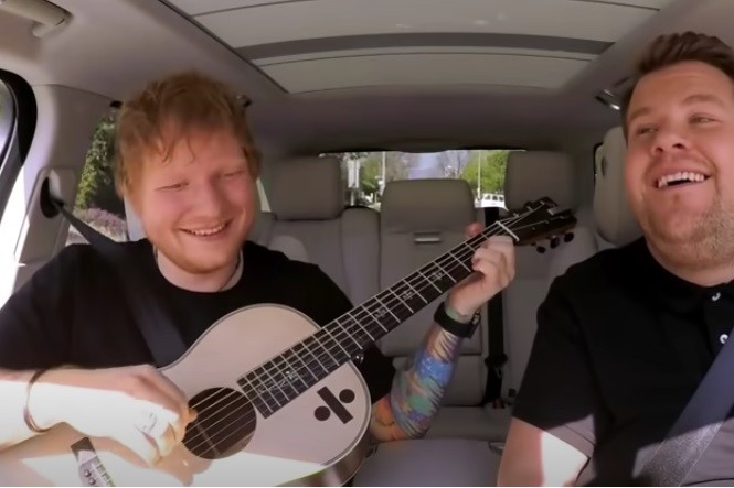 Carpool Karaoke time, Ed Sheeran, enjoy!