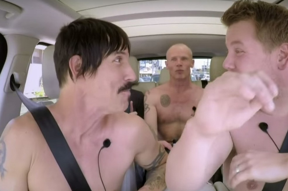 Carpool Karaoke time, Red Hot Chili Peppers, enjoy!